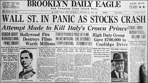 wall street crash 1929 This is the final part of our three-part new york in the jazz age podcast  series check out our two prior episode #233 the roaring '20s:.