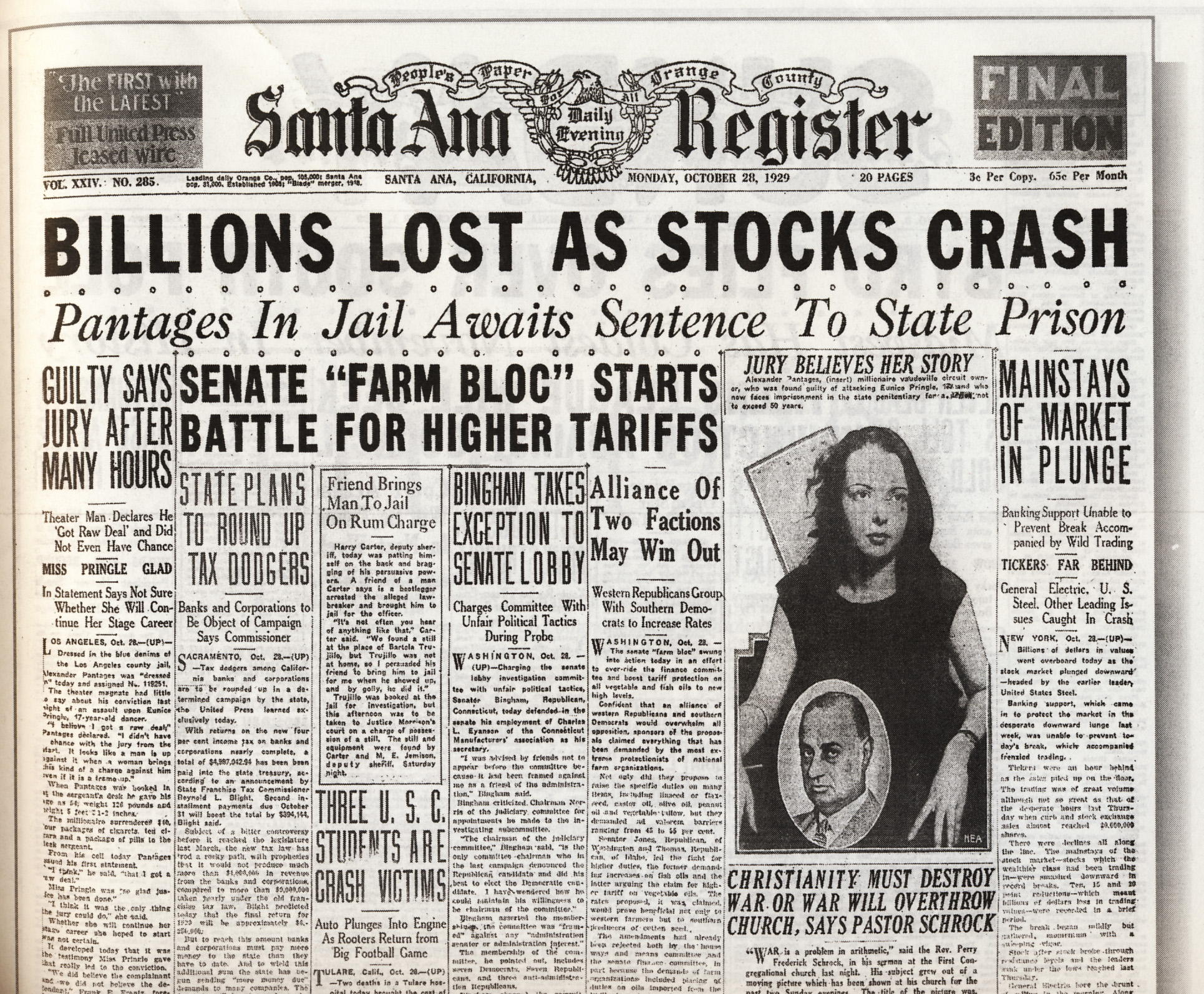 the wall street crash of 1929 The relationship of the wall street crash and the great depression 985 words | 4 pages the relationship of the wall street crash and the great depression in this essay i will be explaining the causes of the great depression the wall street crash was the drop in share prices in 1929the great depression was the period in the 1930's when the usa and other countries like germany suffered a .